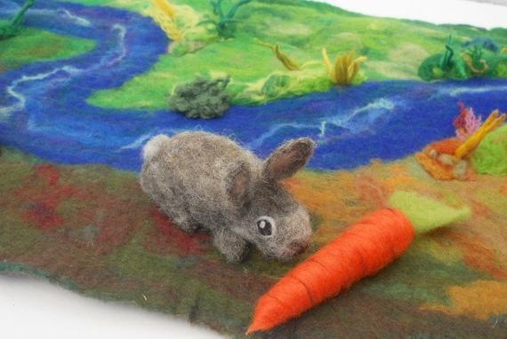 зайчето и моркова